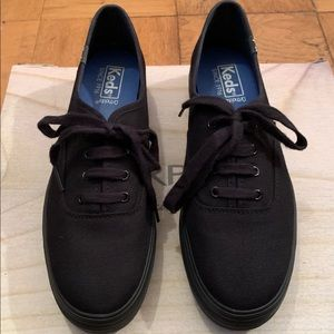 Keds Triple Flatform Canvas Shoes